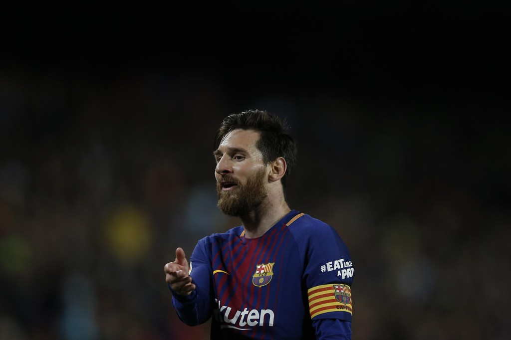 Lionel Messi liker ikke tanken på Neymar i Real Madrid. Foto: AP Photo/Manu Fernandez / NTB scanpix