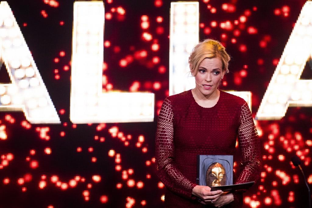 Carina Olset har en sentral rolle i NRK TVs VM-dekning. Foto: Jon Olav Nesvold / NTB scanpix