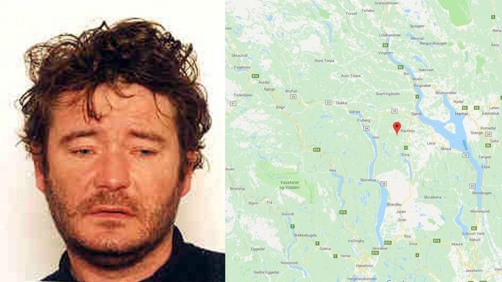 Vandreren Terje Larsen funnet død i Korperuddalen, like sør for Raufoss i Oppland.