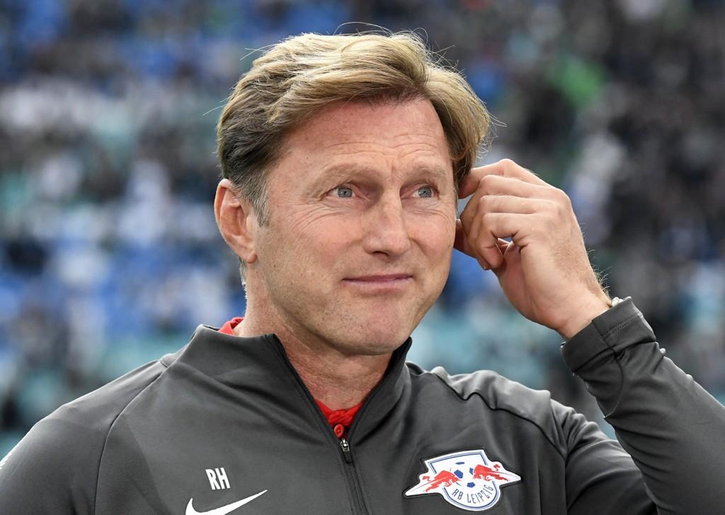 Ralph Hasenhüttl er ferdig som hovedtrener i tyske RB Leipzig. Foto: Jens Meyer, AP / NTB scanpix