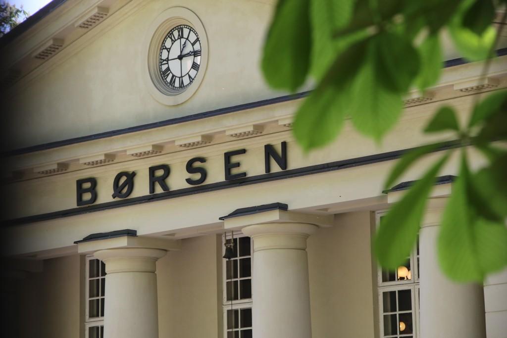 Oslo Børs endte grønne tall etter oppgang i handelen onsdag. Foto: Erik Johansen / NTB scanpix
