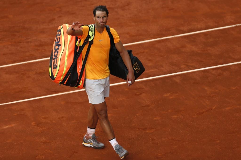 Rafael Nadal jakter suksess i Italia. Her fra ATP-turneringen i Madrid nylig. Foto: Francisco Seco, AP / NTB scanpix