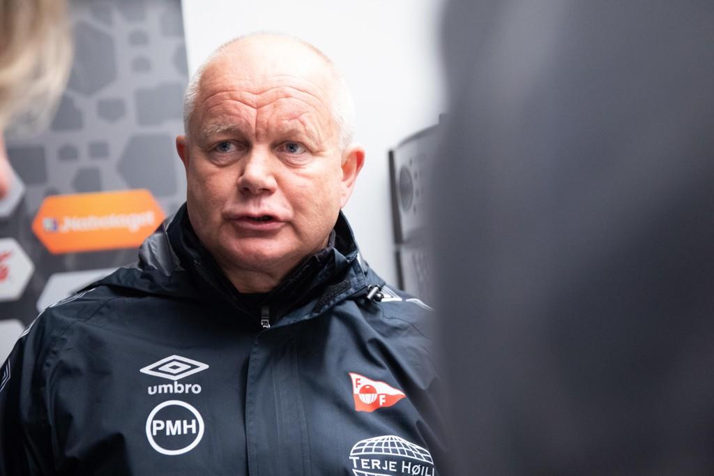 Per-Mathias Høgmo og Fredrikstad jager opprykk i 2018. Foto: Audun Braastad / NTB scanpix