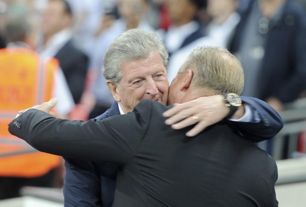 Roy Hodgson, her som England-manager i 2014, er stolt over å ha fått prisen. Foto: Terje Pedersen / NTB scanpix