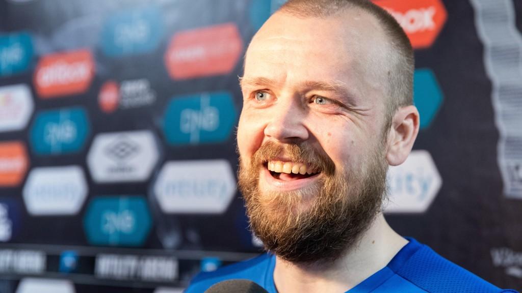 GAMLEFAR: Haugesunds Christian Grindheim har fått en viktig rolle i laget.