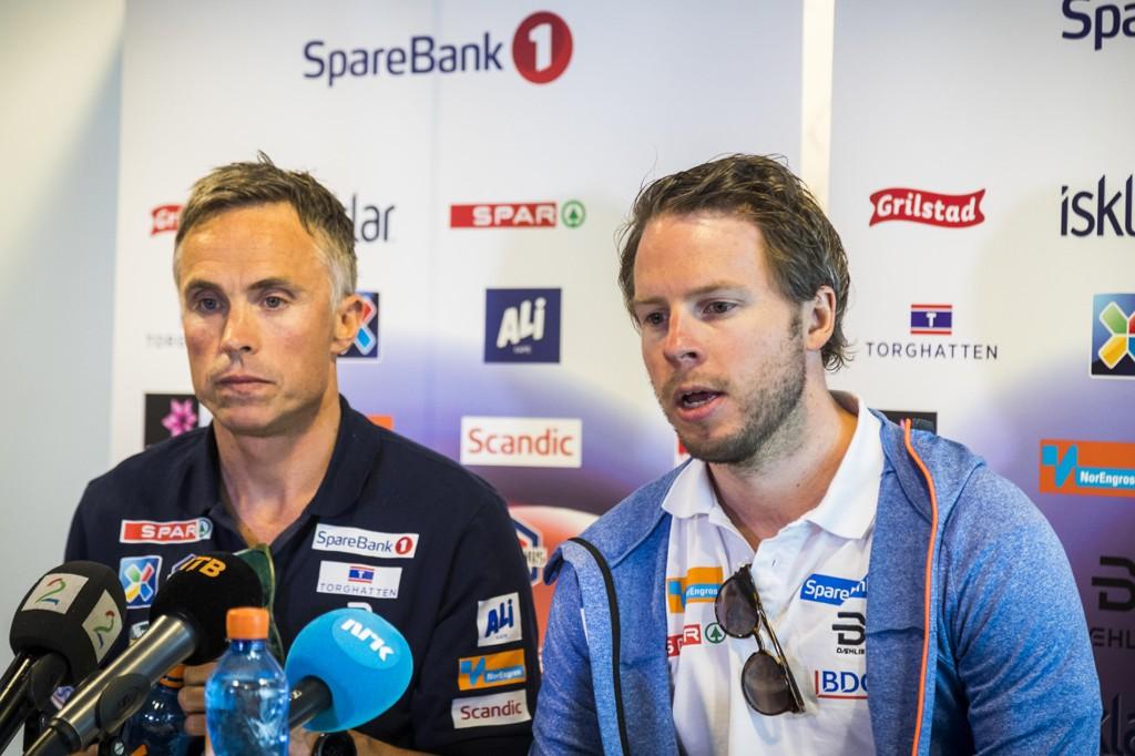 Landslagssjef Vidar Løfshus er blant annet på jakt etter Eirik Myhr Nossums assistent. Foto: Heiko Junge / NTB scanpix