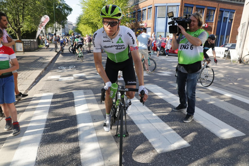 Edvald Boasson Hagen vant torsdagens etappe i Tour of Norway. Foto: Cornelius Poppe / NTB scanpix