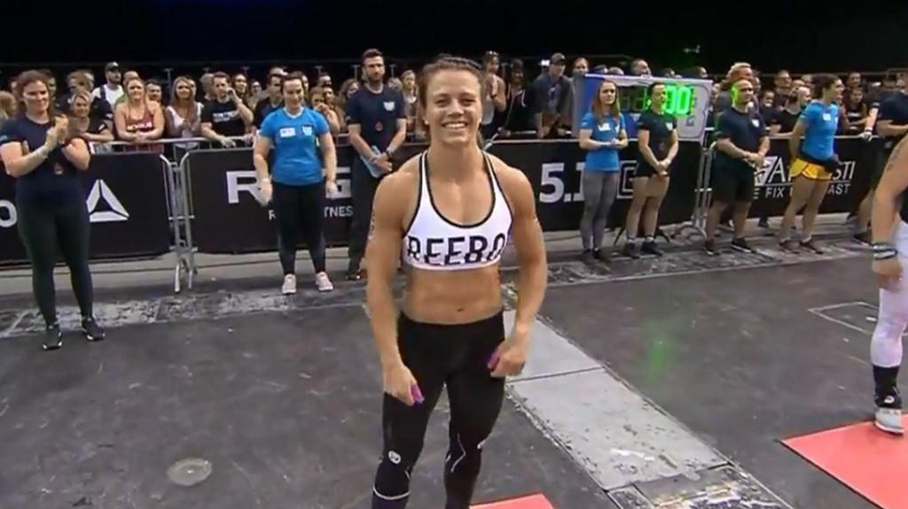 FJERDEPLASS: Kristin Holte etter at det ble klart at hun hadde havnet på fjerdeplass