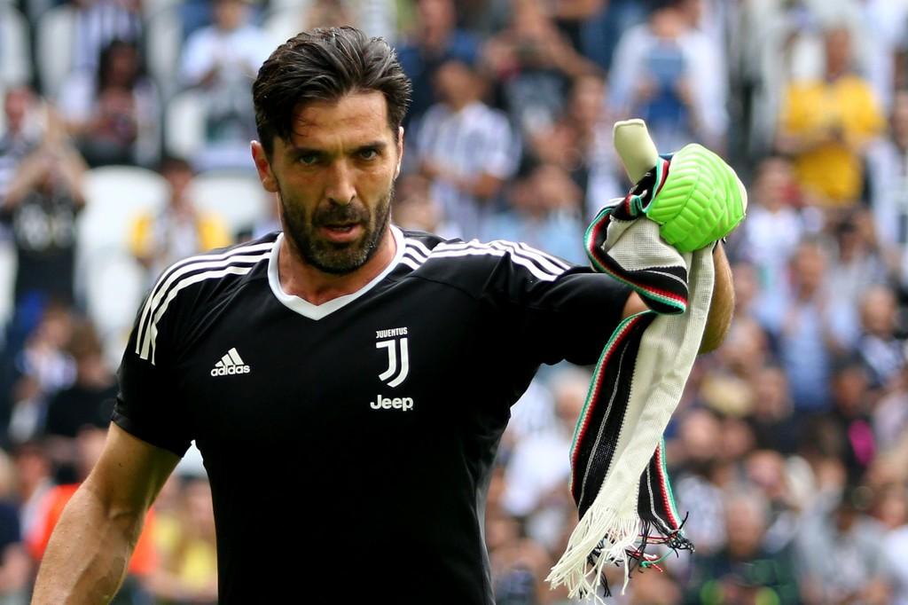 PÅ VEI TIL NY KLUBB: Keeper Gianluigi Buffon.