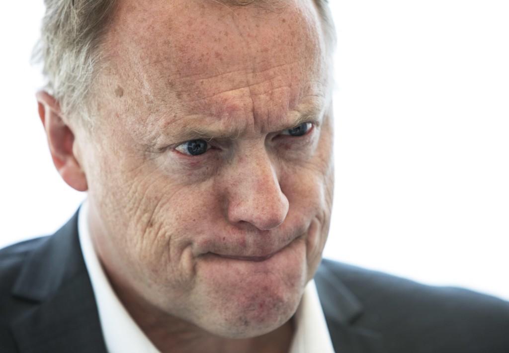 FALLER PÅ MÅLING: Raymond Johansen og Arbeiderpartiet i Oslo faller 10 prosentpoeng på VGs ferske måling.
