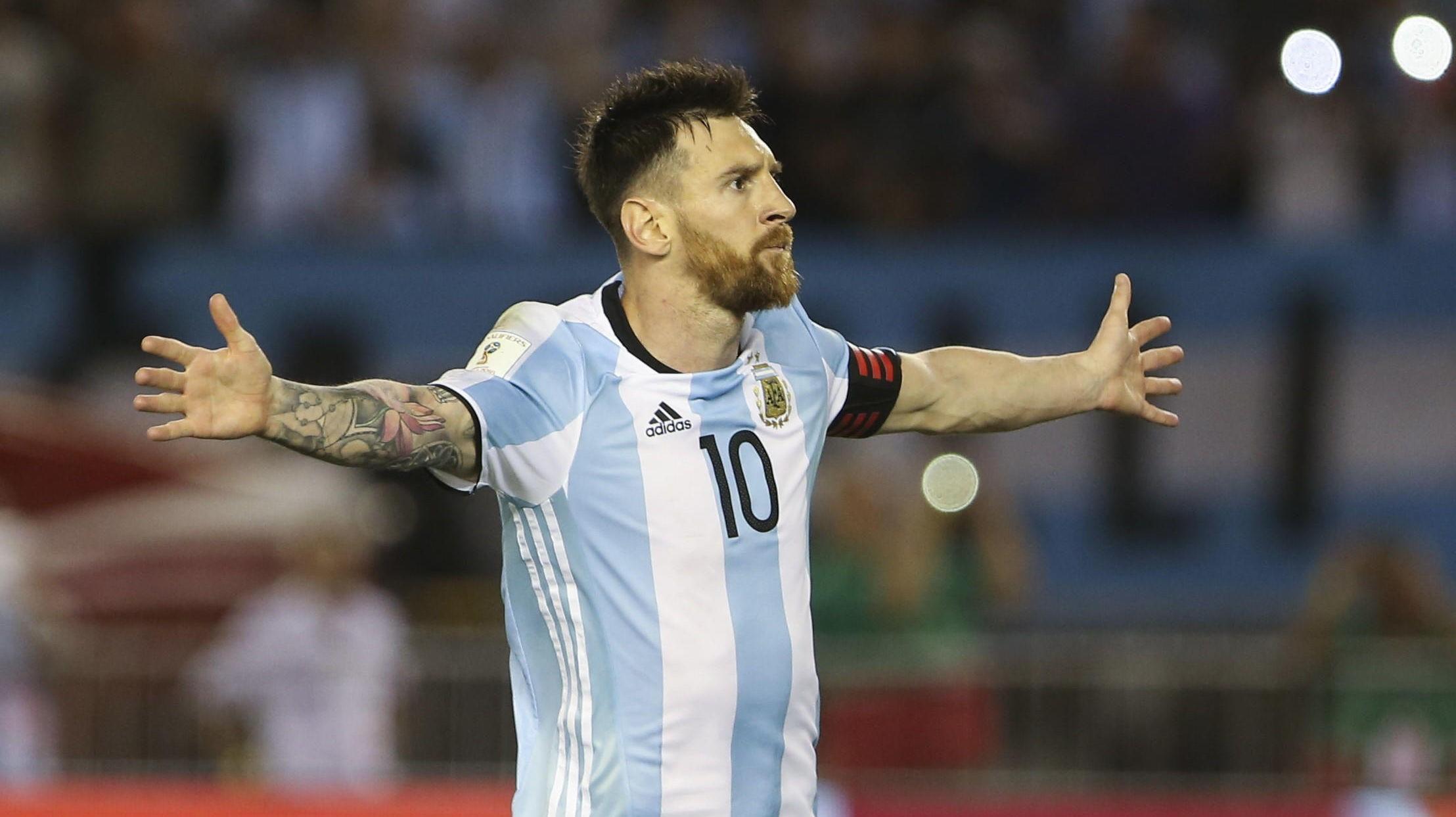 BLIR Å SE: Argentinas stjernespiss Lionel Messi er en av spillerne du kan se under årets verdensmesterskap i fotball som arrangeres i Russland 14. juni til 15. juli.