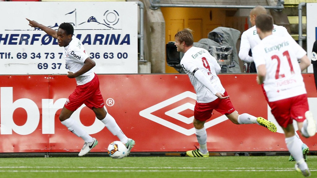 Fredrikstad er store favoritter når de tar i mot Rufoss søndag. Foto: Terje Pedersen / NTB scanpix