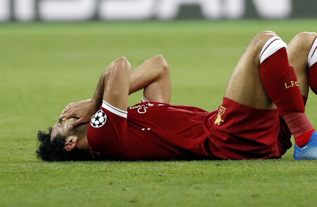 Mohamed Salah har kjempet en kamp mot klokken for å rekke VM i Russland. Foto: AP Photo/Pavel Golovkin/NTB scanpix.