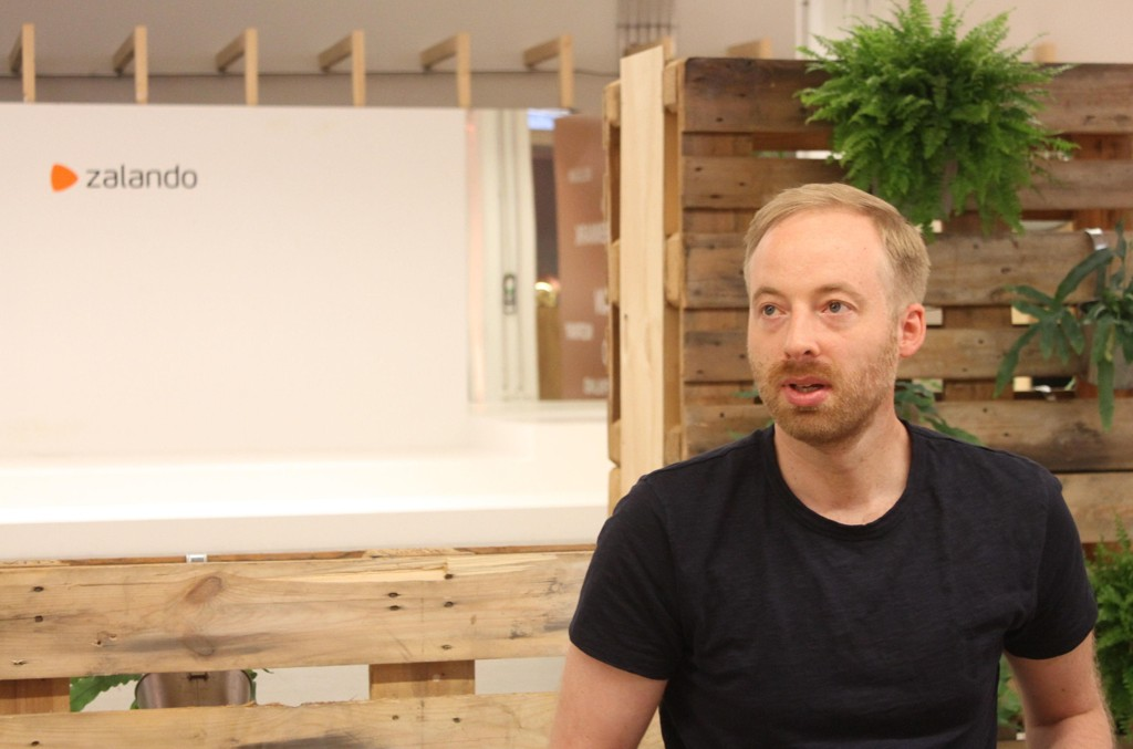 ZALANDO-TOPP: Rubin Ritter er en av de tre konsernsjefene i Zalando.