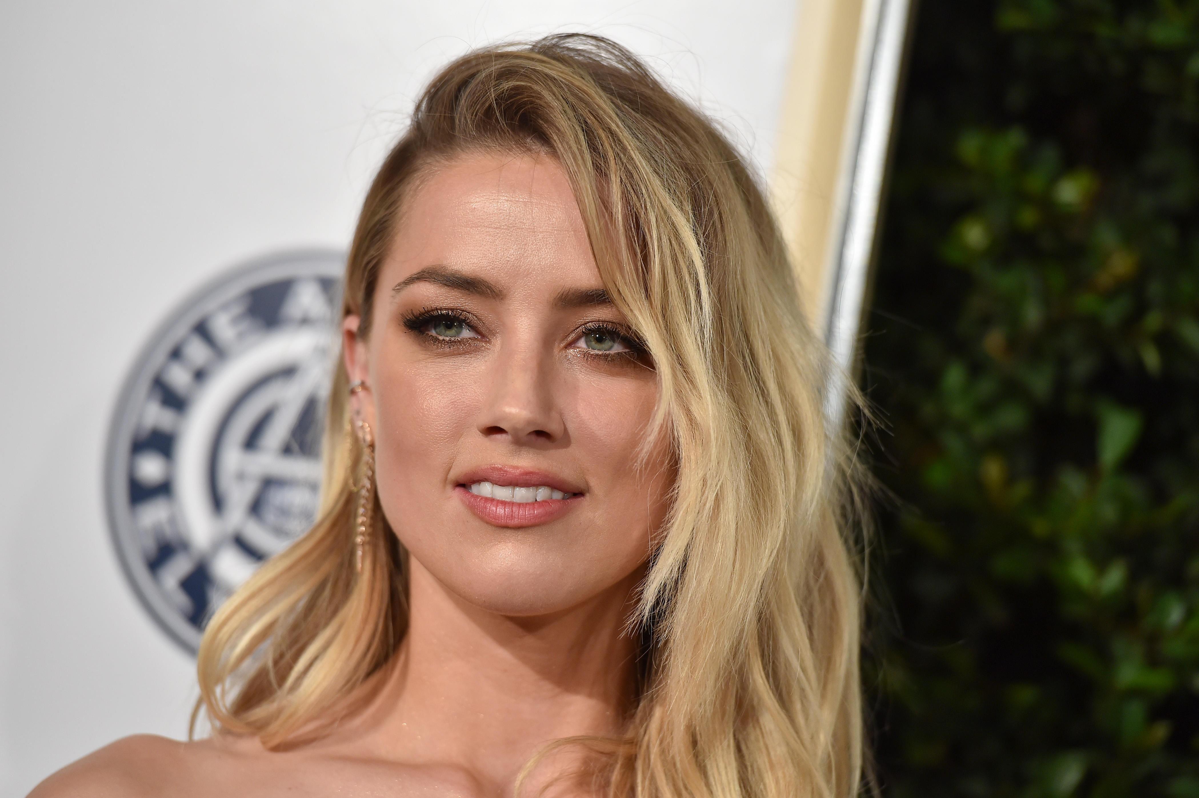 SEXY ROLLE: Amber Heard spiller fristerinne i den nye filmen «London Fields» som kommer på kino senere i år.