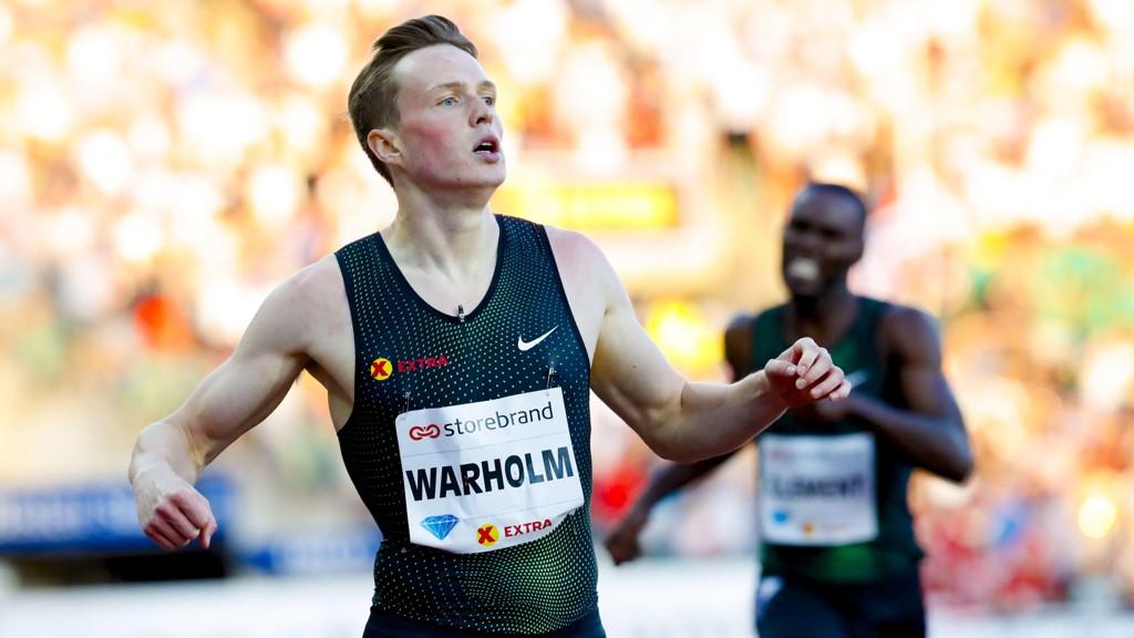 TAP: Karsten Warholm endte på andreplass i Sverige.