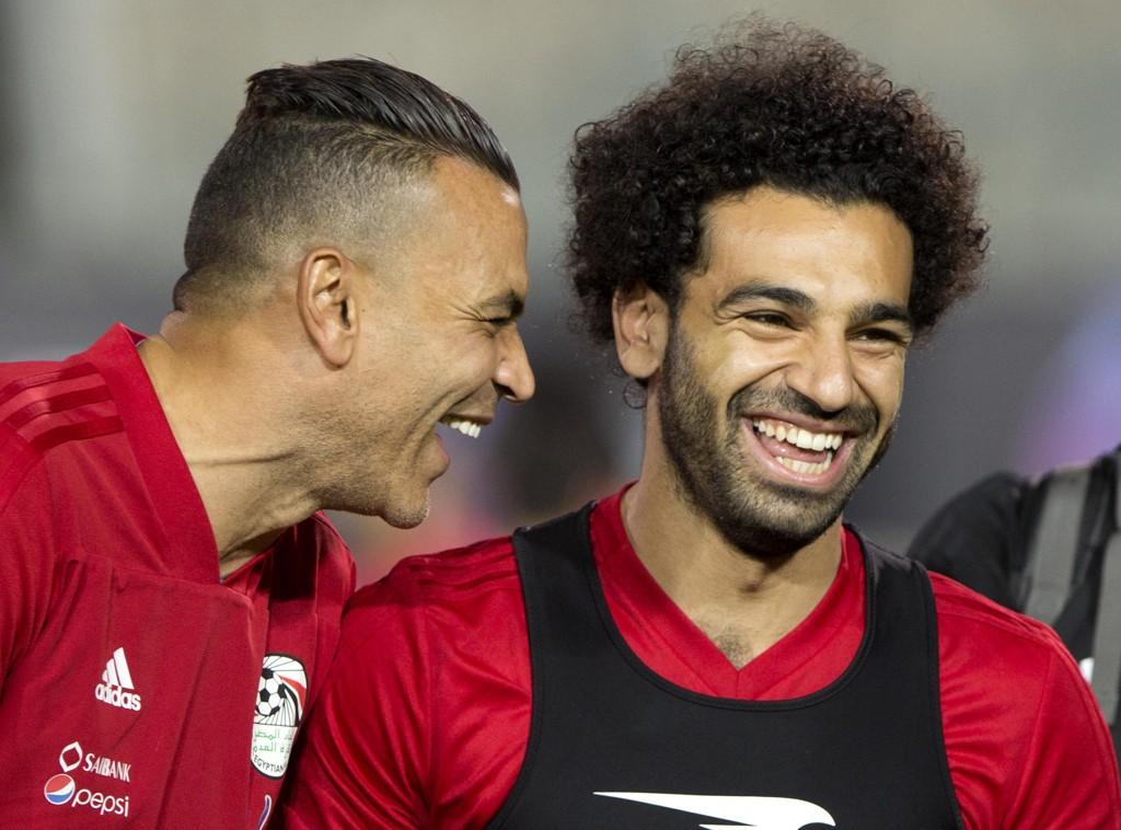 Hele Egypt håper på Mohamed Salah i VM. Foto: AP Photo/Amr Nabil / NTB scanpix