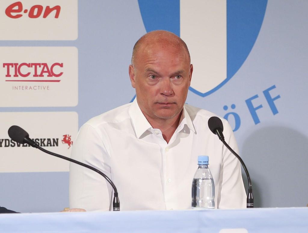 Uwe Rösler er klar som ny hovedtrener for Malmö. Her fra tiden som Molde-trener. Foto: Andreas Hillergren/TT / NTB scanpix