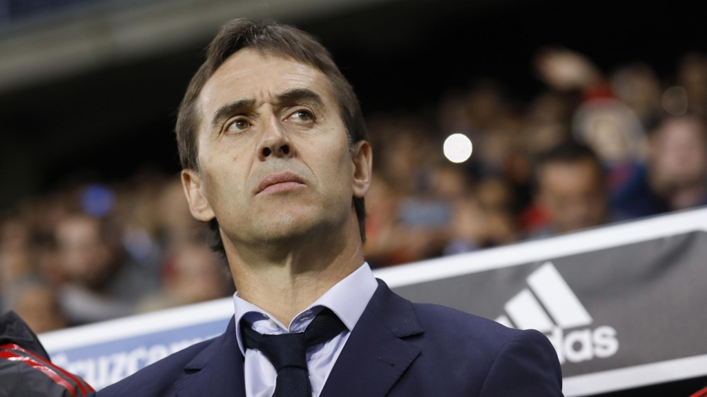 TIL MADRID: Julen Lopetegui tar over Real Madrid.