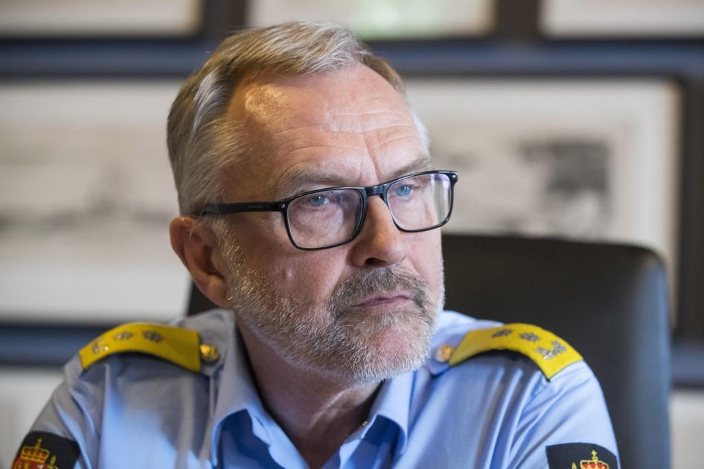 Oslos politimester Hans Sverre Sjøvold.