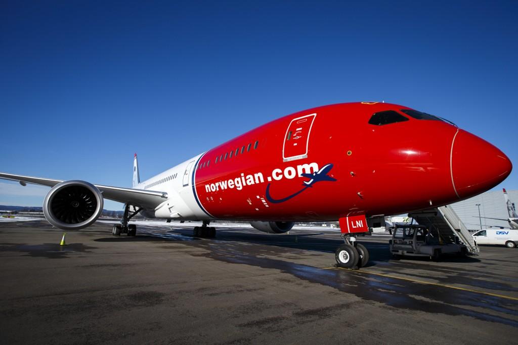 Fly med spedbarn norwegian