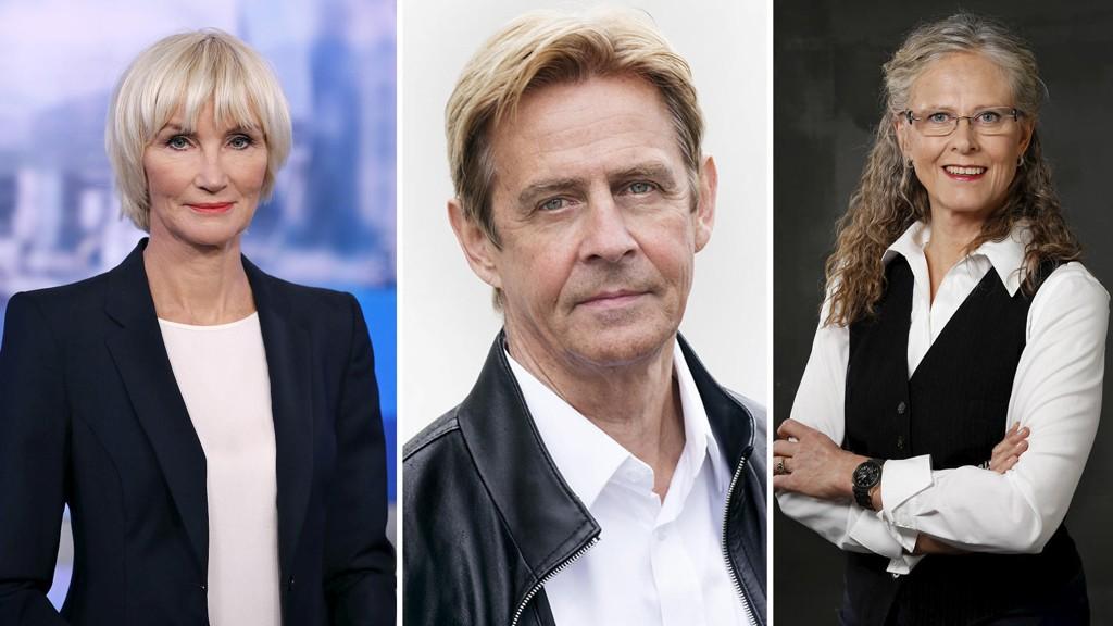 Nina Owing, Anders Magnus og Gro Holm fikk alle over en million kroner fra statskanalen.