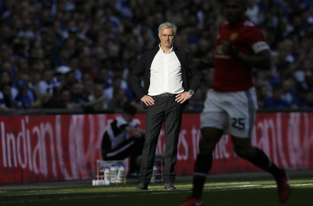 Manchester United-manager Jose Mourinho står i spissen for verdens rikeste klubb. Foto: Tim Ireland / AP / NTB scanpix