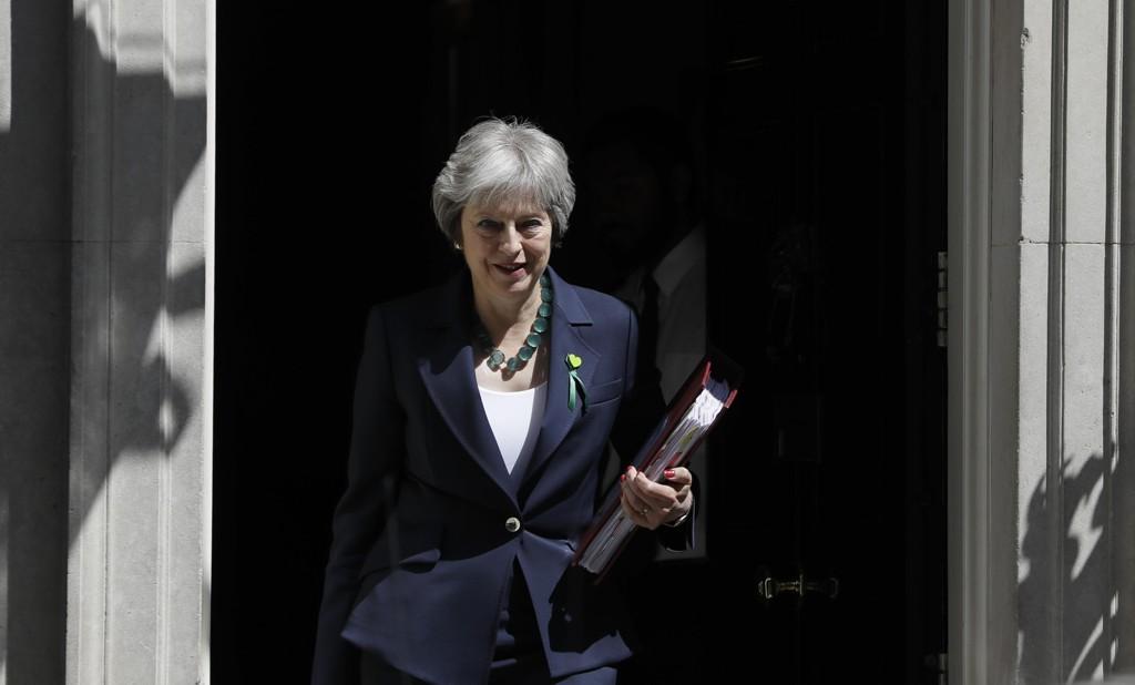 Storbritannias statsminister Theresa May har kommet seirende ut av tre viktige avstemninger i Underhuset som omfatter endringer av en britisk lov om brexitprosessen. Foto: AP / NTB scanpix