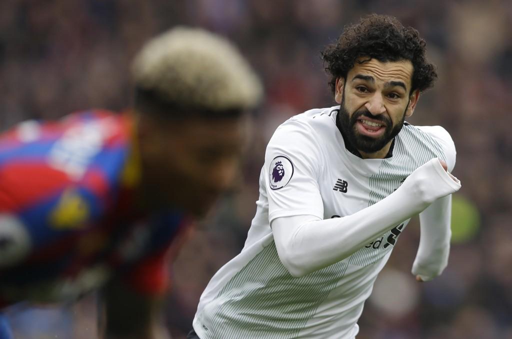 Mohamed Salah og Liverpool blir å se på NENT-kanalene i Sverige, Danmark og Finland, mens det er uklart om TV 2 får beholde Premier League-rettighetene her hjemme. Foto: Alastair Grant / AP / NTB scanpix