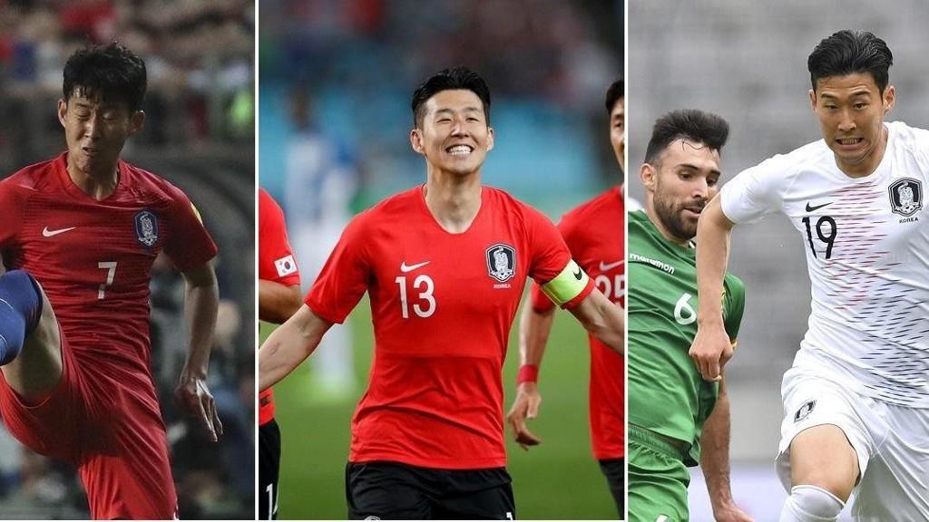 ALT FOR Å FORVIRRE: Sør-Koreas stjerne Heung-Min Son har brukt fire forskjellige draktnummer i kampene før VM. Nå har det nærmest utviklet seg til å bli en spionkonkurranse mellom Sverige og Sør-Korea, og reglene tøyes i alle retninger.