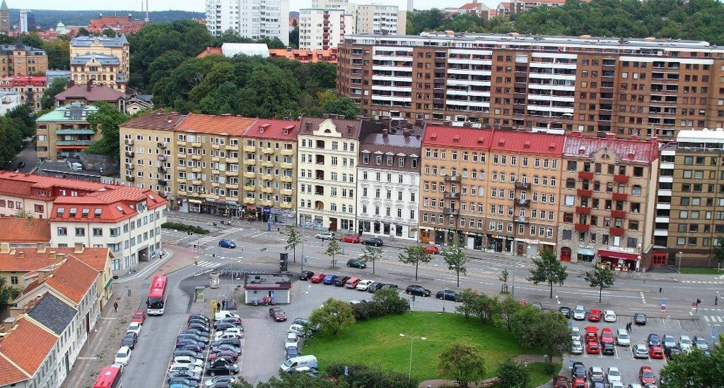 TOPPER LISTEN: Göteborg ligger på bilinnbruddstoppen i Sverige. Mye av årsaken ligger i den store gjennomstrømmingen av turister på sommeren. (Foto: Wikimedia Commons)