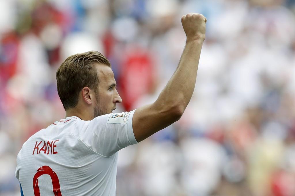 Harry Kane har tro på at England kan gå hele veien under årets fotball-VM i Russland. Foto: Antonio Calanni / AP / NTB scanpix