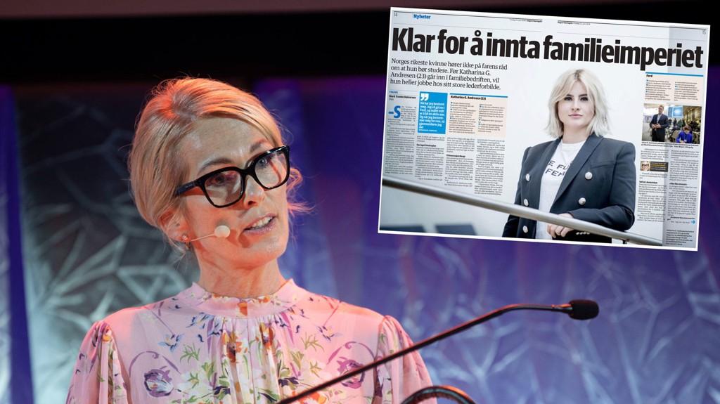 KRITIKK: Innovasjon Norges direktør Anita Krohn Traaseth får kritikk for lynansettelse av Norges rikste kvinne, milliardærarving Katharina G. Andresen.