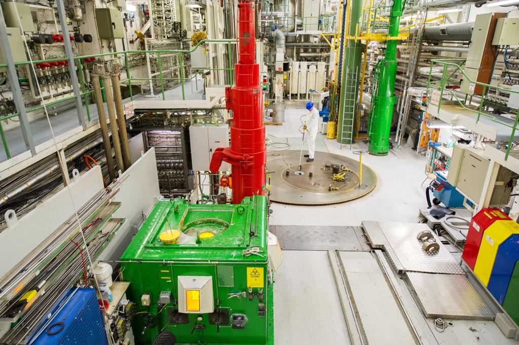 Etter 60 år er det ugjenkallelig slutt for atomreaktoren i Halden. Foto: Mick Tully / Image Communication / NTB scanpix