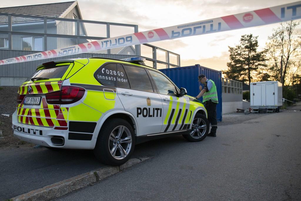 En kvinne er pågrepet etter at en mann ble knivstukket Høybråten i Oslo. Foto: Fredrik Hagen / NTB scanpix