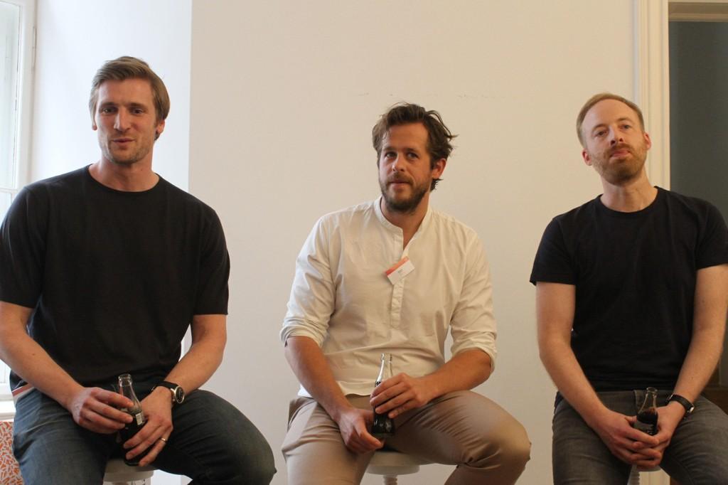 LØNNSFALL OG BONUSHOPP: David Schneider, Robert Gentz og Rubin Ritter får mye lavere fastlønn og høy bonus for jobben i netthandelsgiganten Zalando.