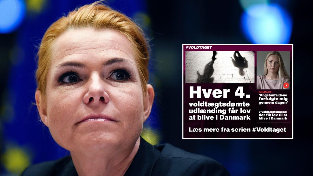 HORRIBELT:I 35 av 65 voldtekstdommer i Danmark er gjerningspersonen innvandrer eller etterkommer av innvandrere, viser tall fra danske B.T. - Det er fullstendig horribelt. Og det sier meg at det er noe helt galt i innvandrermiljøene i Danmark, sier utlendings- og integreringsminister Inger Støjberg (V) til BT.