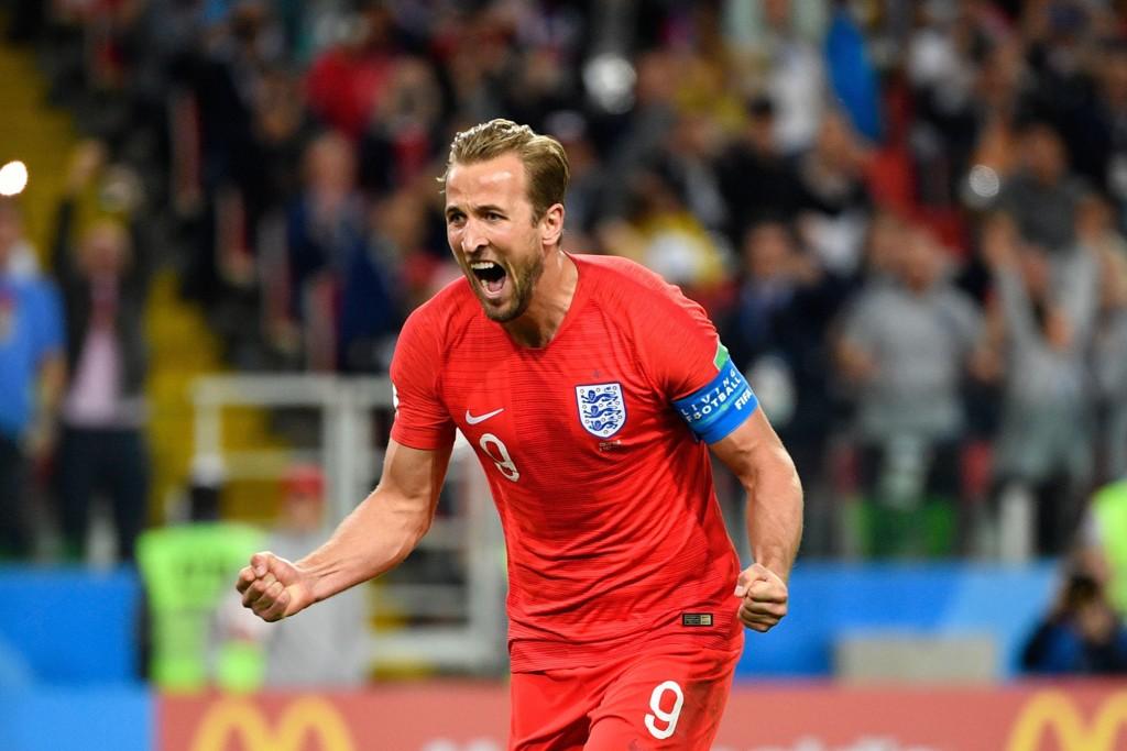 VIDERE I VM: Harry Kane og England slo Colombia.