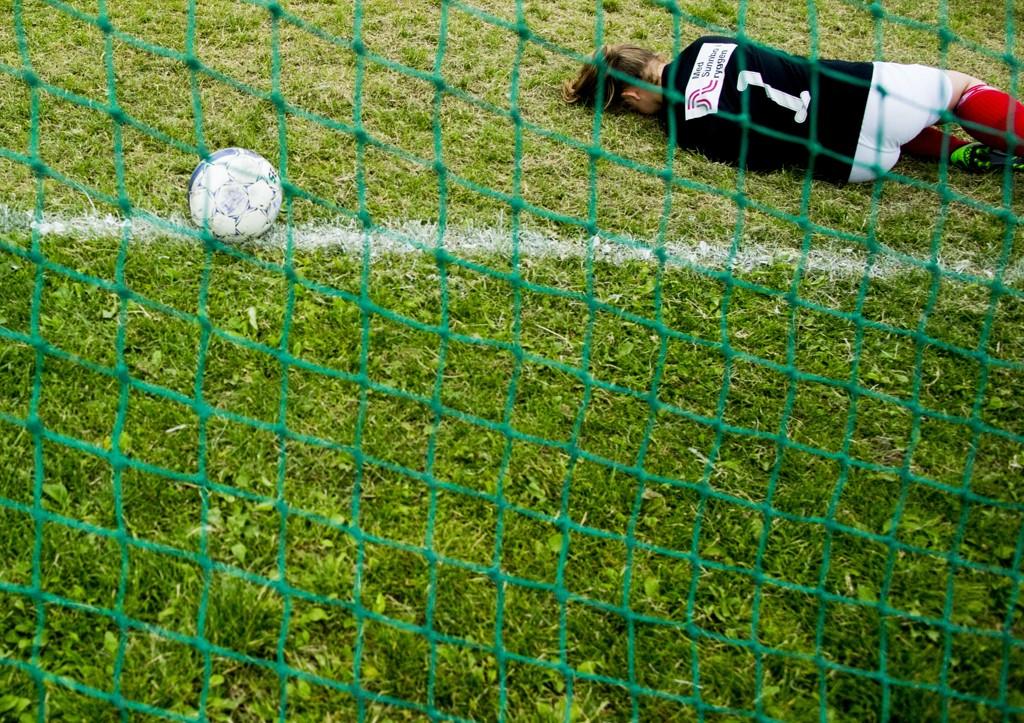 Rundt 900 kamper fra årets Norway Cup blir vist enten på strømme-TV eller ordinær TV. Foto: Vegard Wivestad Grøtt / NTB scanpix.