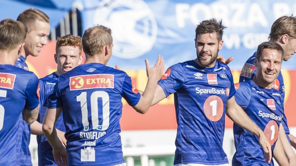 SUKSESS: Ranheim har så langt gjort sine saker svært godt i Eliteserien.