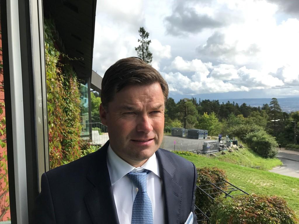 Kristian Johansen er toppsjef i TGS-Nopec