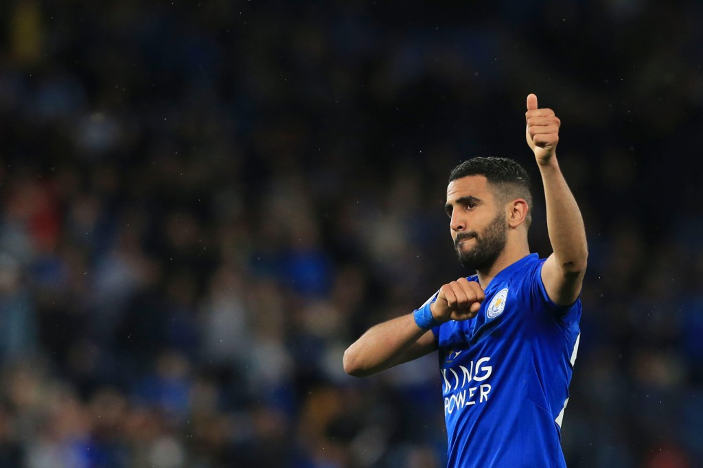 KLAR FOR CITY: Riyad Mahrez.