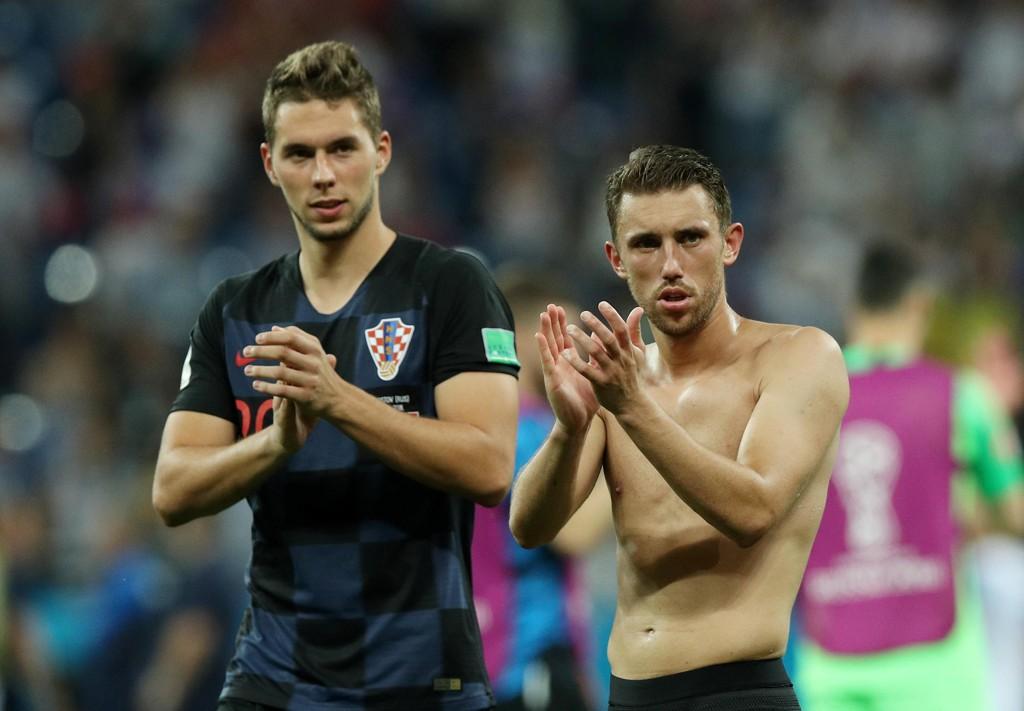 TIL LIVERPOOL? Liverpool skal ha fått tilbud om å hente Juventus-spilleren Marko Pjaca i sommer. Her avbildet med Josip Pivaric.
