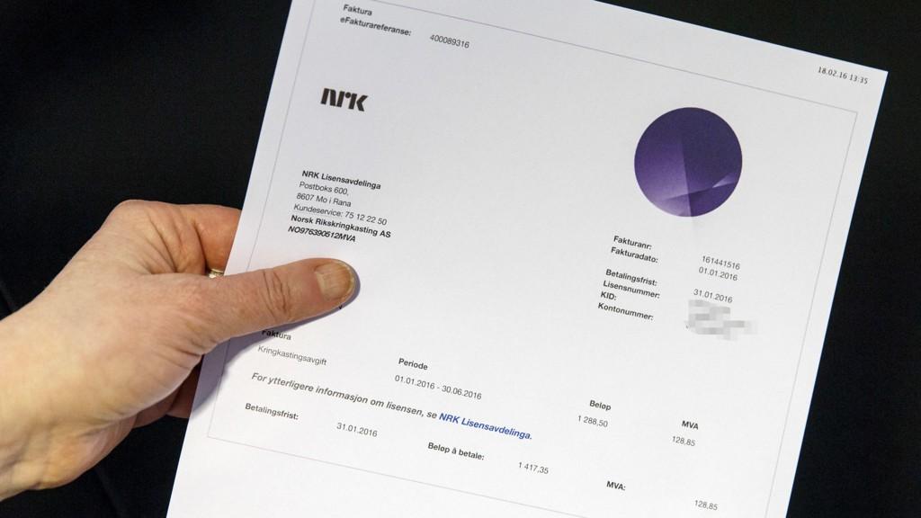 TREKKES I LØNN: Nordmenn som ikke betalte TV-lisensen i januar trekkes nå i trygd eller lønn.