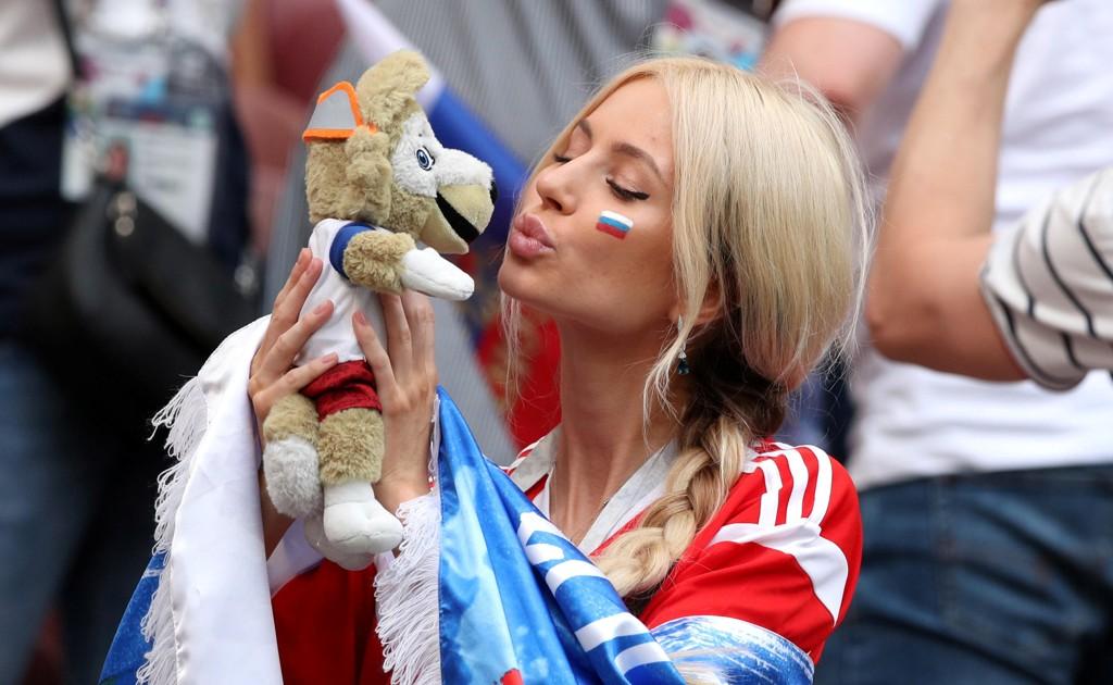 VM-feber: Russiske fans fikk mye å juble for under VM på hjemmebane.