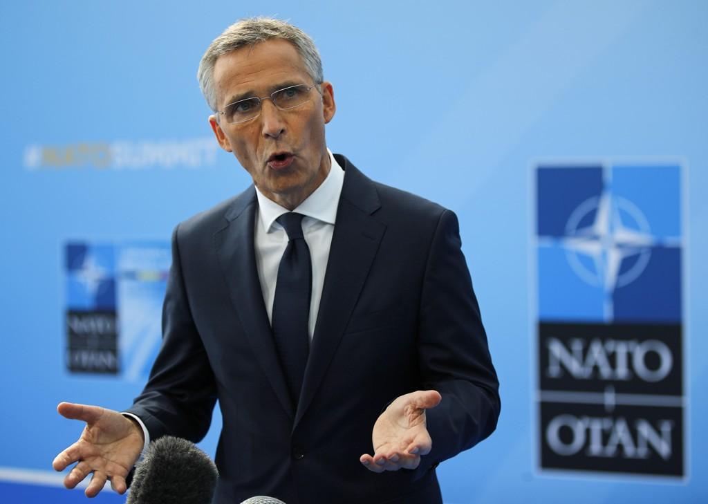 NATO-sjef Jens Stoltenberg i Brussel onsdag. Foto: François Mori / AP / NTB scanpix