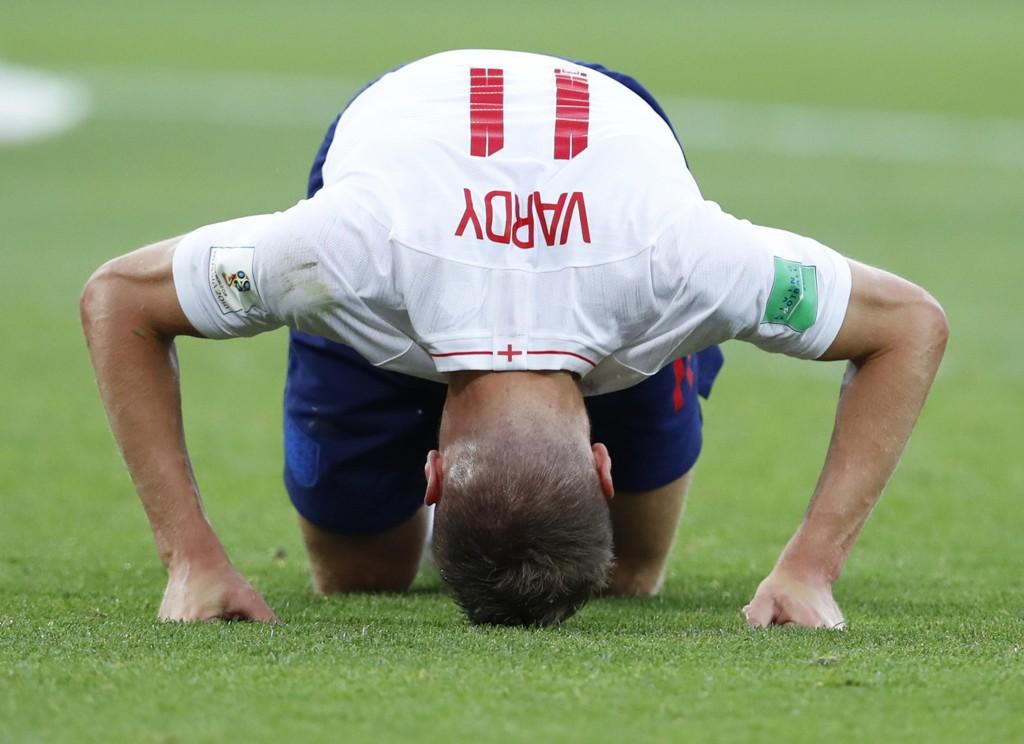 JAMIE VARDY: Jamie Vardy er blant England-spillerne som møter Kroatia i semifinalen i VM.