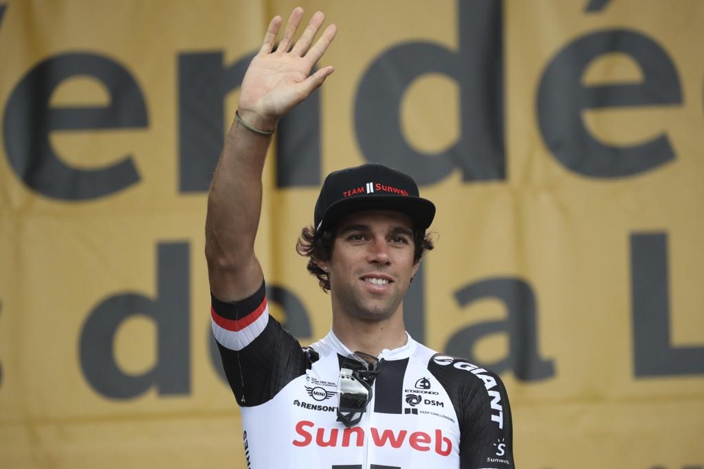 Michael Matthews har forlatt årets Tour de France-ritt. Foto: Christophe Ena / AP / NTB scanpix