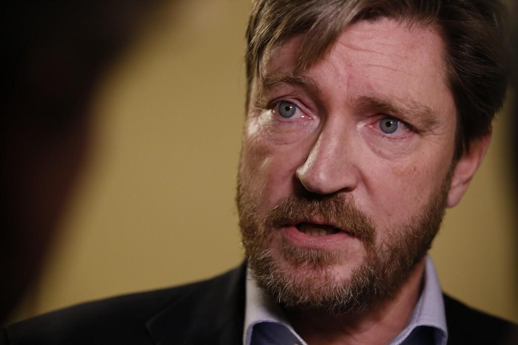 Christian Tybring-Gjedde ønsker et samarbeid mellom Frp og Sverigedemokraterna. Foto: