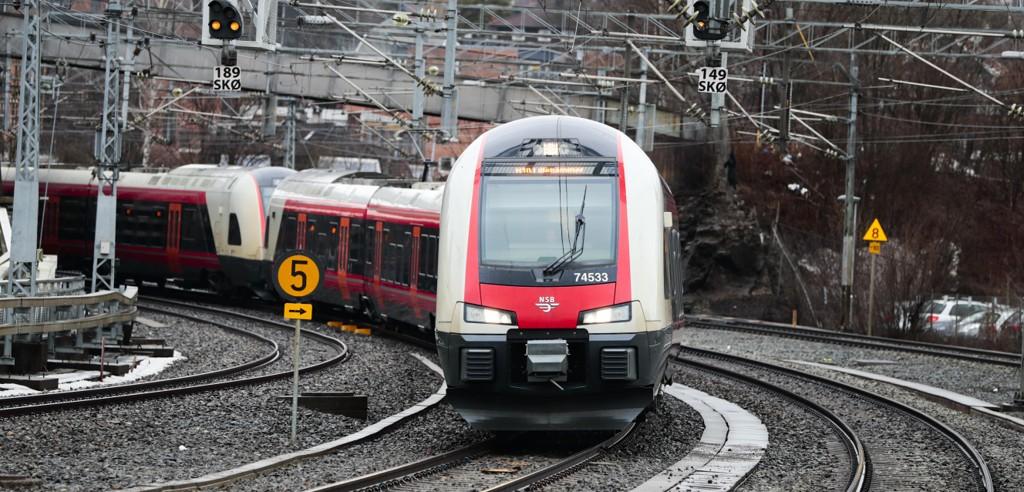 Bane Nor skal bruke 60 milliarder kroner på Intercity-prosjektet de neste tre årene. Foto: Lise Åserud / NTB scanpix